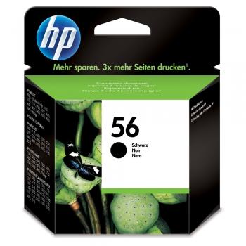 Cartus cu cerneala original HP C6656AE, 450 pagini, negru
