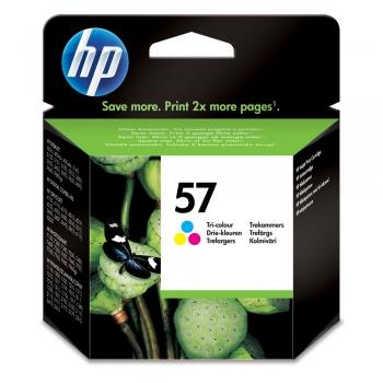 Cartus cu cerneala original HP C6657AE, 400 pagini, color