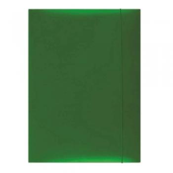 Mapa cu elastic Donau, carton plastifiat, verde