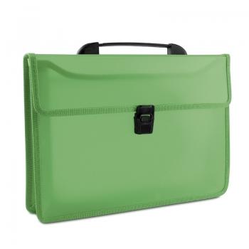 Servieta documente Donau, plastic, verde
