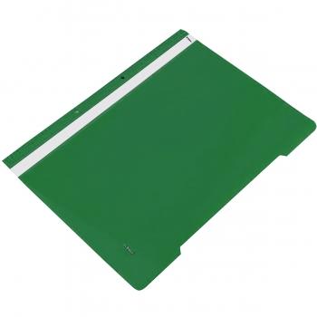 Dosar plastic cu sina si 2 perforatii, verde