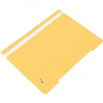 Dosar plastic cu sina si 2 perforatii, galben