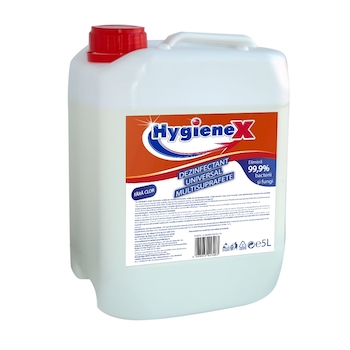 Dezinfectant universal, Hygienium, HygieneX, multisuprafete, fara clor, 5l