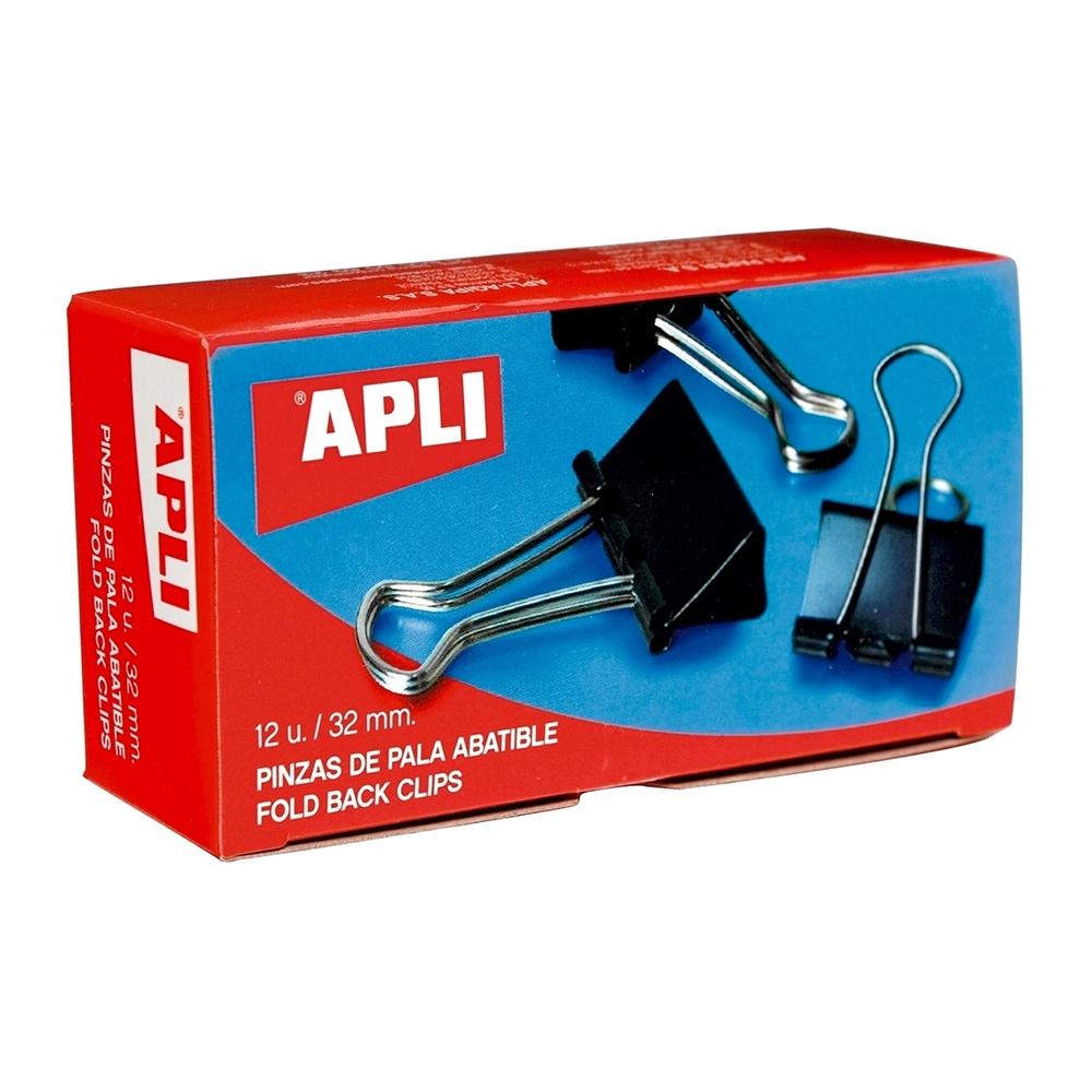 Clipsuri Apli, 40 mm, 12 bucati/cutie