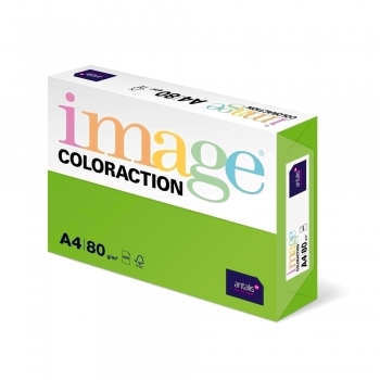Hartie color Coloraction, A4, 80 g/mp, verde intens-Java