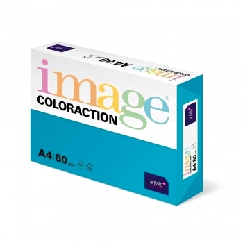 Hartie color Coloraction, A4, 80g/mp, bleu ciel-Lisbon, 500 coli/top