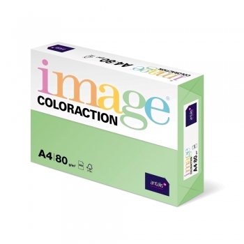 Hartie color Coloraction, A4, 80g/mp, verde padure-Forest, 500 coli/top