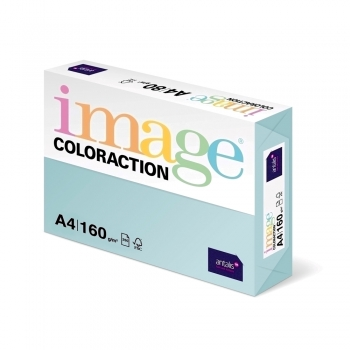 Carton color Coloraction, A4, 160g/mp, bleu pal-Lagoon, 250 coli/top