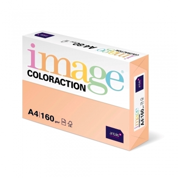 Carton color Coloraction, A4, 160 g/mp, somon-Savana, 250 coli/top