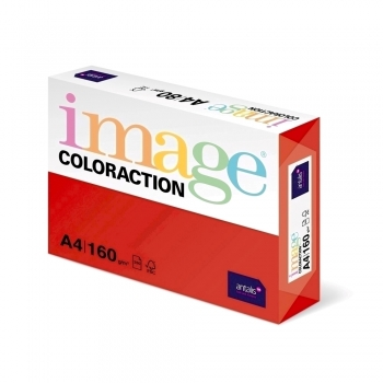Carton color Coloraction, A4, 160 g/mp, rosu-Chile, 250 coli/top