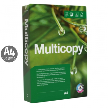 Carton Multicopy, A4, 160 g/mp, 250 coli/top