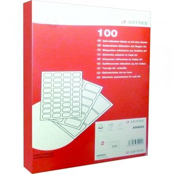 Etichete A-series, 38 x 21.2 mm, 6500 bucati/top
