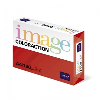 Hartie color Coloraction A5, 80 g, 500 coli/top, rosu-Chile