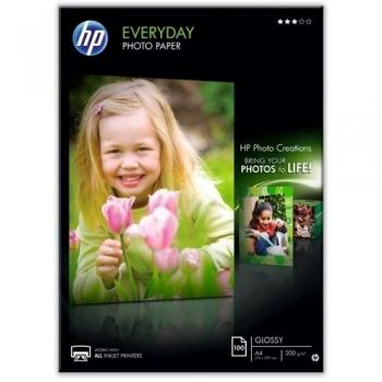 Hartie foto HP Q2510A Glossy, A4, 200 g/mp