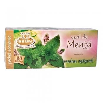 Ceai Belin, menta, 20 plicuri/cutie
