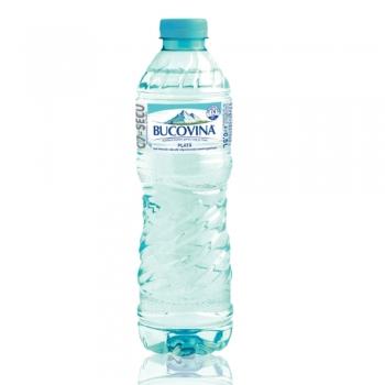 Apa minerala plata Bucovina, 0.5 l, 12 sticle/bax