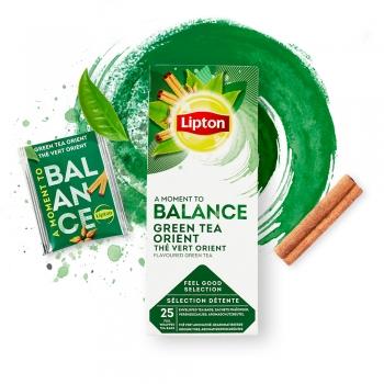 Ceai verde, Lipton Classic, Orient, 25 plicuri