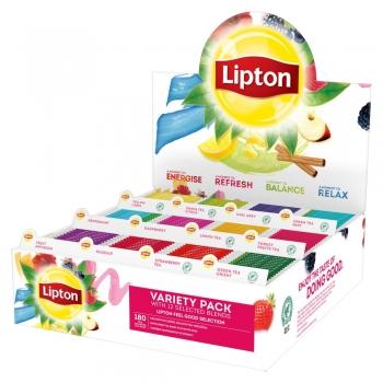 Pachet ceai Lipton, Classic, Variety, 180 plicuri