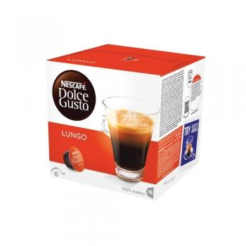 Capsule Nescafe Dolce Gusto Caffe Lungo, 16 capsule/cutie