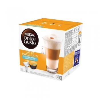 Capsule Nescafe Dolce Gusto Latte Macchiato Unsweetened, 16 capsule/cutie