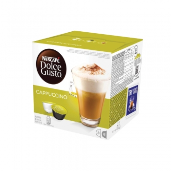 Capsule Nescafe Dolce Gusto Cappuccino, 16 capsule/cutie