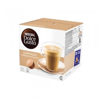Capsule Nescafe Dolce Gusto Cortado Espresso Macchiato, 16 capsule/cutie