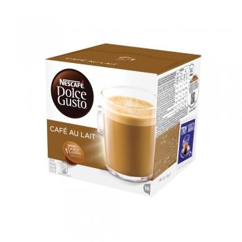 Capsule Nescafe Dolce Gusto Cafe Au Lait, 16 capsule/cutie
