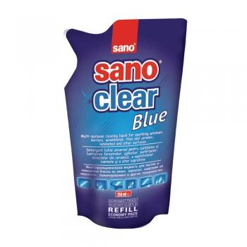 Rezerva detergent Sano pentru geamuri, 750 ml