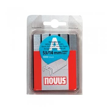 Capse Novus, 53/14, pentru tackere, 1000 bucati/cutie