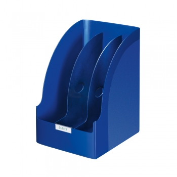 Suport Leitz PLUS Jumbo, pentru cataloage, albastru