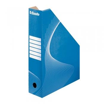 Suport vertical pentru documente, Esselte, Standard, carton, albastru