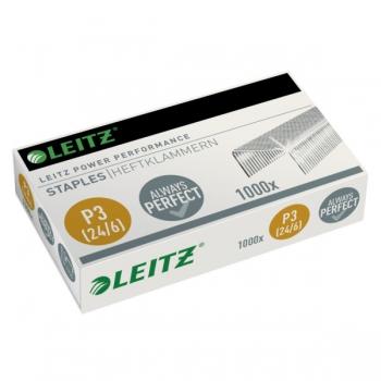 Capse Leitz, Power Performance, 24/6, 1000 bucati/cutie