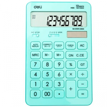 Calculator Birou 12Dig 1531 Bleu Pastel Deli