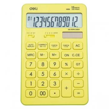 Calculator Birou 12Dig 1551 Vernil Pastel Deli