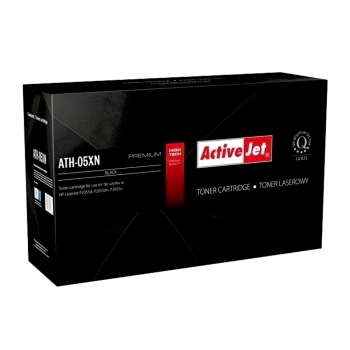 Toner ActiveJet ATH-05XN, compatibil, HP CE505X, 6500 pagini, negru