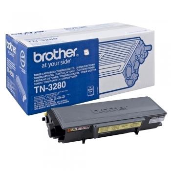 Toner original Brother TN3280, 8000 pagini, negru