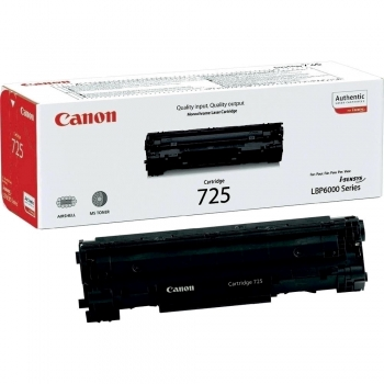 Toner original Canon CRG-725, 1600 pagini, negru