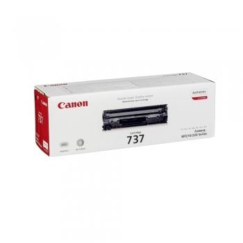 Toner original Canon CRG-737, 2400 pagini, negru