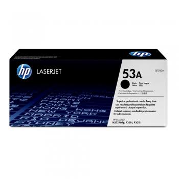 Toner original HP Q7553A, 3000 pagini, negru