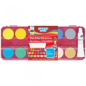 Set pentru pictat, 24 de culori