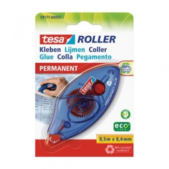 Roller lipici permanent Tesa, 8.4 mm x 8.5 m