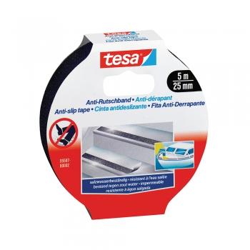 Banda autoadeziva Tesa antialunecare, 25 mm x 5 m