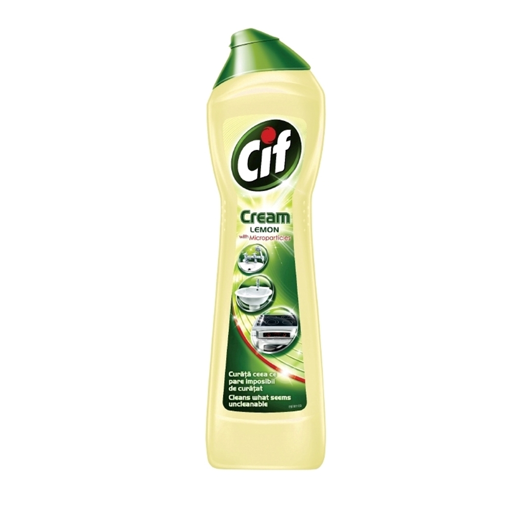 Detergent Cif Cream Lemon, 500 ml