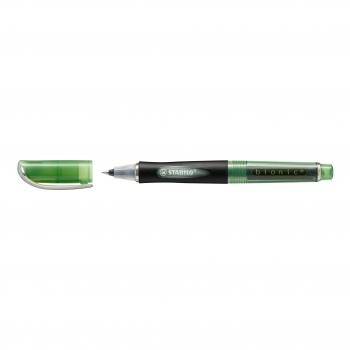 Roller cu cerneala, Stabilo, Bionic, 0.4 mm, plastic, verde