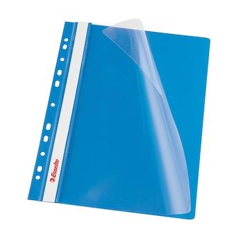 Dosar PP cu multiperforatii  Esselte VIVIDA, A4, albastru, 10 buc/set