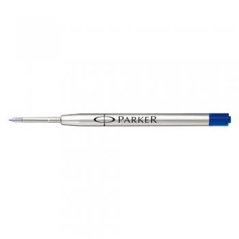 Rezerva pix Parker, metalic, 0.7 mm, albastru