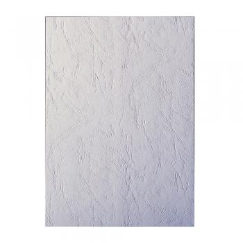 Coperti indosariere Apex, imitatie piele, A4, albe, 100 coli/top