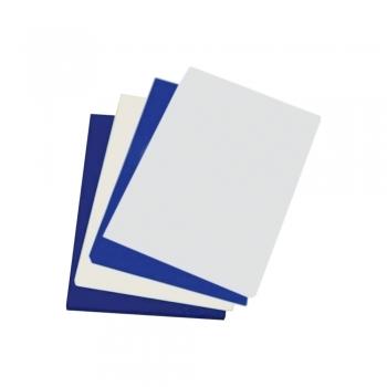 Coperti pentru indosariere Apex, lucioase, A4, negre, 100 coli/top