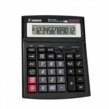 Calculator Canon WS-1210T, 12 digiti