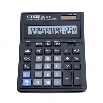 Calculator Citizen SDC-554S, 14 digiti